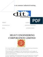 Presentation on Heavy Engineering Corporation Limited
