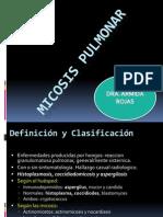 11.2 Micosis Pulmonar