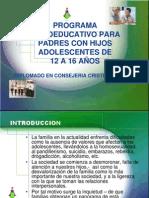 4 Psicoeducativo Padres Con Hijos Adolescentes
