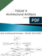 TOGAF 9 Architectural Artifact