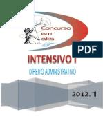 1 - 25-01-12 - Noções Introdutórios de Direito Administrativo