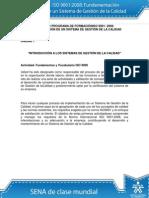 Actividad de Aprendizaje Unidad 1 Introducción a Los Sistemas de Gestión de La Calidad Modificado
