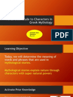 phrases in greek mythology allusions