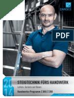ZARGES Handwerksprogramm Z300 Z200 2014 1