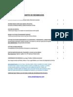 Check List Para Reembolsos (Ago 14)
