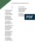 Poema Como Has Cambiado Pelona de Nicomedes Santa Cruz