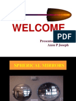 Powerpoint Presentation-Spherical Mirrors