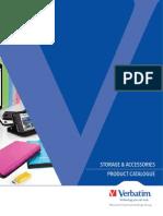 Verbatim Storage and Accessories Product Catalogue Q1 2014 Low Res