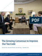 The Growing Consensus to Improve Our Tax Code