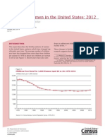 Fertility of Women in the United States