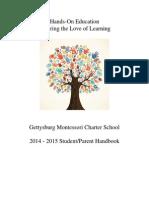 2014-15 student parent handbook final 9 22 2014