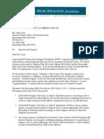 Mississippi State FFRF Request