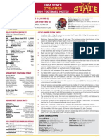Iowa State vs. Baylor game notes