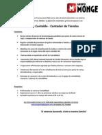 Analista Contable - Contador de Tiendas