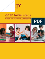 GESE Initial Steps - Guide for Teachers 2014