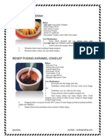 RESEP Puddings