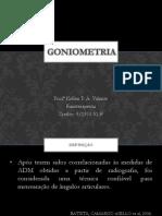 16 - Goniometria