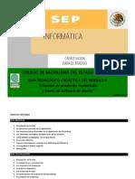 Guía Didáctica y Evaluación Módulo II Informática