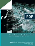 Autodesk Inventor 11 - Curso Oficial de Diseño Industrial - [Esp]