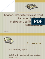 Word Formation in Englis