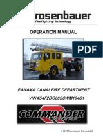 Commander Operation Manual