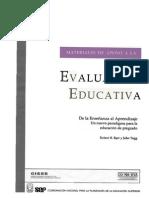 Barr, Robert- De La Enseñanza Al Aprendizaje Un Nuevo Paradigma Para La Educacion de Pregrado
