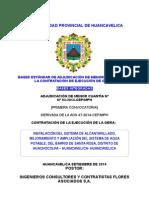 Bases Integradas Huancavelica Agua