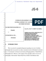 Mavrix v Livejournal Summary Judgment Order