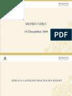 Befreunden Presentation - Berjaya Langkawi Resort
