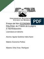 Ensayo Del Libro Economia Politica de p