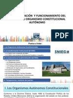 INEGI Como Organismo Constitucional Autonomo (24jul14_17 Horas Viernes de Café 25jul) Ajustada 06ago