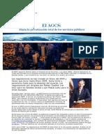 Estrategias Planetarias El AGCS- Hacia La Privatización Total de Los Servicios Públicos