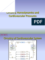 Circuitry, Hemodynamics and Cardiovascular Pressures