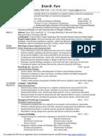 brian pynn resume  2014 new