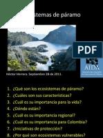 Ecosistemas de Paramos1