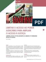 Abusidade No Acesso Ao Poder Judiciário No Brasil Sob o Enfoque Da Analise Economica Da Litigancia