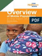 Mobile Populations HOA Dr Saumya Anand