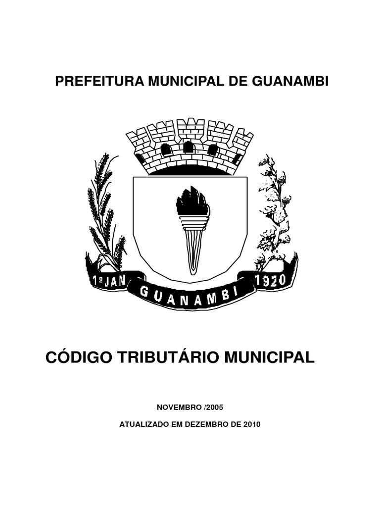 CÓDIGO TRIBUTÁRIO GUANAMBI 2ce8ff1ec8