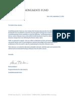 Carta en apoyo a Basta de Demoler de WMF
