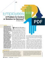 Employees a Problem to Control or Solution to Harness
