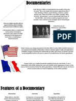 Documentary Genre Analysis