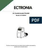 Manual Ar Condicionado Portatil Electronia AC-N9KRH - 1218194