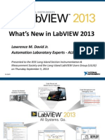 Whats New Labview 2013