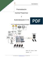 CASADOMO Guia Preinstalacion Powermax y X-10[1]
