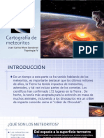 Cartografía de Meteoritos