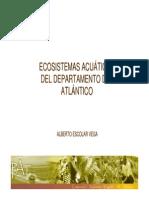 Ecosistemas Acuaticos Del Dpto Del Atlantico
