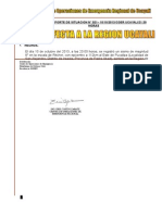 Reporte Situacional Simulacro Sismo 10.10.13