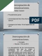 Interceptación de Comunicaciones (2)