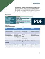 Webstrategy - Profile