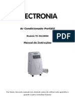 Manual Ar Condicionado Portatil Electronia TC-N12KRH - 1218323
